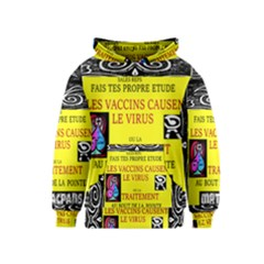 Vaccine  Story Mrtacpans Kids  Pullover Hoodie