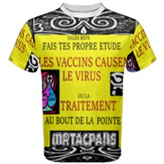 Vaccine  Story Mrtacpans Men s Cotton Tee