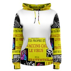 Vaccine  Story Mrtacpans Women s Pullover Hoodie