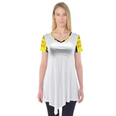Vaccine  Story Mrtacpans Short Sleeve Tunic
