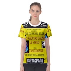 Ronald Story Vaccine Women s Sport Mesh Tee