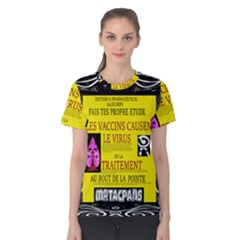 Ronald Story Vaccine Mrtacpans Women s Cotton Tee