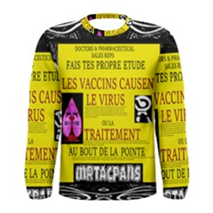 Ronald Story Vaccine Mrtacpans Men s Long Sleeve Tee