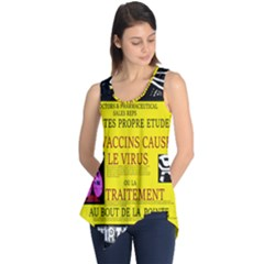 Ronald Story Vaccine Mrtacpans Sleeveless Tunic