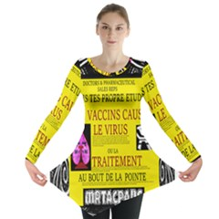 Ronald Story Vaccine Mrtacpans Long Sleeve Tunic