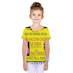 Ronald Story Vaccine Mrtacpans Kids  One Piece Tee