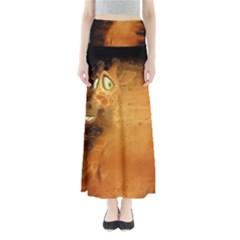 The Funny, Speed Giraffe Full Length Maxi Skirt