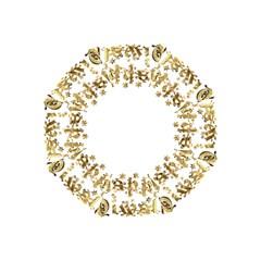 Happy Diwali Gold Golden Stars Star Festival Of Lights Deepavali Typography Folding Umbrellas