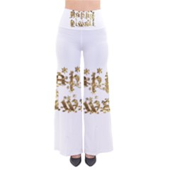 Happy Diwali Gold Golden Stars Star Festival Of Lights Deepavali Typography Pants