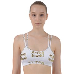 Happy Diwali Gold Golden Stars Star Festival Of Lights Deepavali Typography Line Them Up Sports Bra
