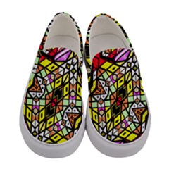 Ancient Solo Women s Canvas Slip Ons