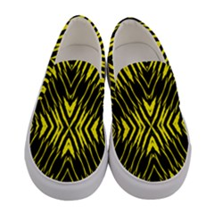 X Spots Mark Women s Canvas Slip Ons