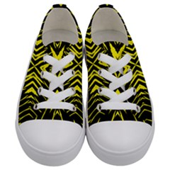 X Spots Mark Kids  Low Top Canvas Sneakers