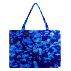 Blue Jellyfish Medium Tote Bag