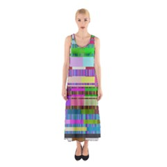 Error Sleeveless Maxi Dress