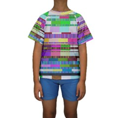 Error Kids  Short Sleeve Swimwear