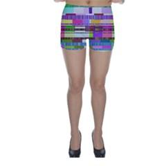 Error Skinny Shorts