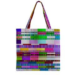 Error Zipper Grocery Tote Bag