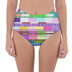 Error Reversible High Waist Bikini Bottoms