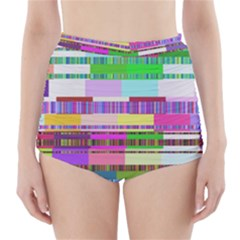 Error High Waisted Bikini Bottoms