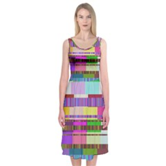 Error Midi Sleeveless Dress