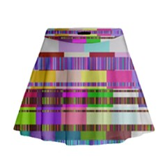 Error Mini Flare Skirt