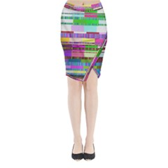 Error Midi Wrap Pencil Skirt
