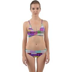 Error Wrap Around Bikini Set