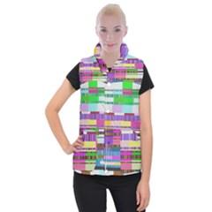 Error Women s Button Up Puffer Vest