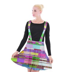 Error Suspender Skater Skirt