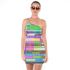 Error One Soulder Bodycon Dress