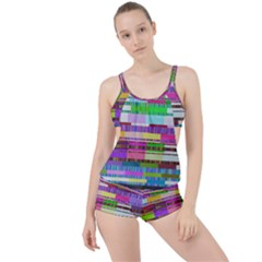 Error Boyleg Tankini Set