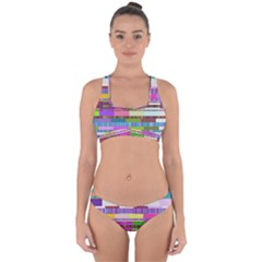 Error Cross Back Hipster Bikini Set