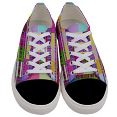 Error Women s Low Top Canvas Sneakers