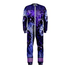 Beautiful Violet Spiral For Nocturne Of Scorpio Onepiece Jumpsuit (kids)