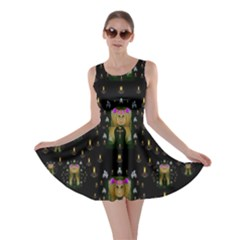Queen In The Darkest Of Nights Skater Dress