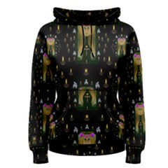 Queen In The Darkest Of Nights Women s Pullover Hoodie