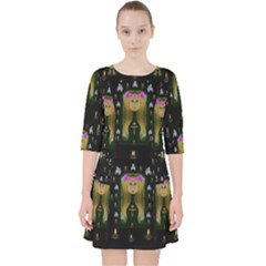 Queen In The Darkest Of Nights Pocket Dress