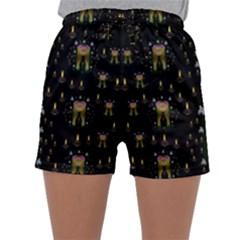 Queen In The Darkest Of Nights Sleepwear Shorts