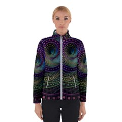 Oz The Great With Technicolor Fractal Rainbow Winterwear