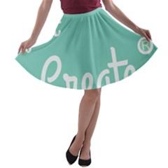 Bloem Logomakr 9f5bze A Line Skater Skirt