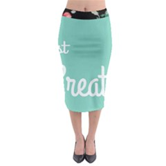 Bloem Logomakr 9f5bze Midi Pencil Skirt