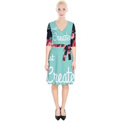 Bloem Logomakr 9f5bze Wrap Up Cocktail Dress