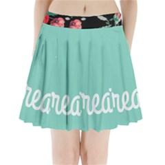 Bloem Logomakr 9f5bze Pleated Mini Skirt