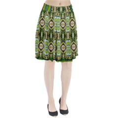 Bread Sticks And Fantasy Flowers In A Rainbow Pleated Skirt