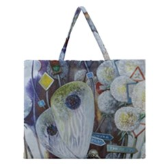 Magic Wold Zipper Large Tote Bag