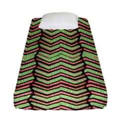 Zig Zag Multicolored Ethnic Pattern Fitted Sheet (single Size)