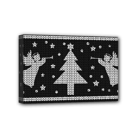 Ugly Christmas Sweater Mini Canvas 6  X 4