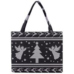 Ugly Christmas Sweater Mini Tote Bag