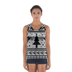 Ugly Christmas Sweater Sport Tank Top